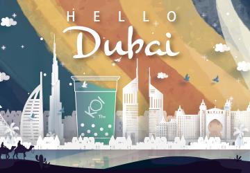杜拜 : 跟著 KOI 一起見證杜拜的沙漠奇蹟與奢華美學 !
